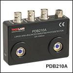自由空間光差分増幅フォトディテクタ、DC~1 MHz