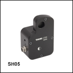 Ø12.7 mm(Ø1/2インチ) 光学ビームシャッタ