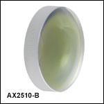 円錐(アキシコン)レンズ、ARコーティング付き:650~1050 nm