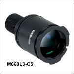 Nikon製Eclipse(バヨネットマウント)顕微鏡用LED照明、コリメータ付き