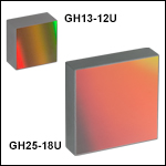 ホログラフィック回折格子、UV反射型