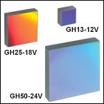 ホログラフィック回折格子、可視光反射型