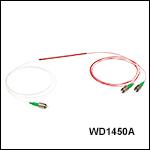 波長分割多重(WDM)カプラ、1480 nm/1550 nm