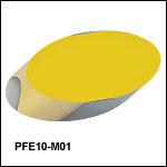 保護膜付き金コーティング楕円ミラー
