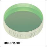 ロングパスダイクロイックミラー/ビームスプリッタ、カットオン波長:1180 nm