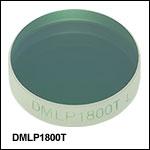 ロングパスダイクロイックミラー/ビームスプリッタ、カットオン波長:1800 nm