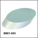 E03広帯域誘電体コーティング楕円ミラー