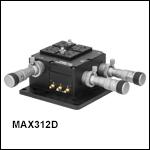 NanoMax 3軸ステージ、差動アジャスタ付き
