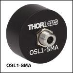 旧ファイバ光源OSL1用SMAファイバーバンドル接続アダプタ