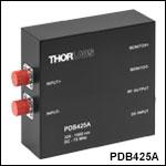 OCT用差分ディテクタ、高速モニタ出力付き、320~1000 nm
