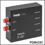 OCT用差分ディテクタ、高速モニタ出力付き、800~1700 nm