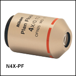 Nikon製プランフルオール(プランフルオリート)対物レンズ