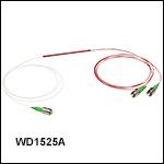 波長分割多重(WDM)カプラ、1550 nm /1625 nm