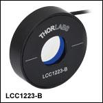 Ø20 mm全波長液晶リターダ、補償機能なし