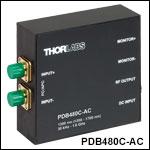 OCT用差分ディテクタ、高速モニタ出力付き、1300 nmに最適化