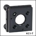 30 mmケージシステム用キネマティックマウント、SM1ネジ付き
