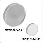 フッ化カルシウム製ポルカドットビームスプリッタ、180 nm~8.0 μm