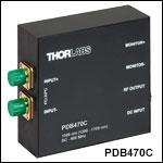 OCT用差分ディテクタ、高速モニタ出力付き、1060 nmに最適化
