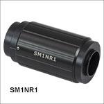Ø25 mm~Ø25.4 mm(Ø1インチ)光学素子ならびにSM1レンズチューブ用ズーム筐体、移動量50.8 mm