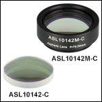 精密CNC研磨非球面レンズ、ARコーティング 1050~1700 nm
