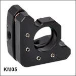 キネマティックミラーマウント、Ø12 mm~Ø12.7 mm(Ø1/2インチ)光学素子用