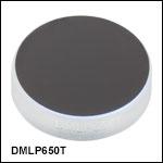 ロングパスダイクロイックミラー/ビームスプリッタ、カットオン波長:650 nm