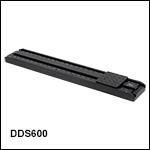ブラシレスDCサーボモータ直線移動ステージ、移動量600 mm