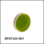 セレン化亜鉛(ZnSe)ポルカドットビームスプリッタ、2.0~11.0 µm