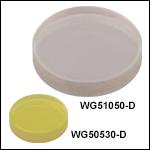 フッ化カルシウム(CaF<sub>2</sub>)ウィンドウ、ARコーティング:1.65~3.0 µm