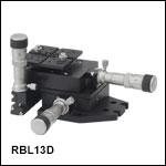 RollerBlock™3軸ステージ、差動マイクロメータ付き