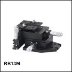RollerBlock™3軸ステージ、マイクロメータ付き