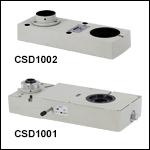 ダブルカメラポート、光学素子内蔵