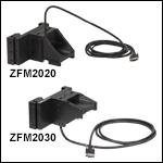 電動式焦準モジュール、移動量25.4 mm