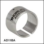 Ø12.7 mm(Ø1/2インチ)アダプタ、外ネジ&内ネジ切り無し