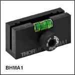 磁石付きビーム高測定ルーラ用90°取付けブラケット