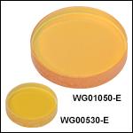 フッ化バリウム(BaF<sub>2</sub>)ウィンドウ、ARコーティング:3~5 µm