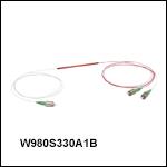 波長分割多重(WDM)カプラ: 980 nm / 1310 nm