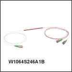 波長分割多重(WDM)カプラ: 1064 nm / 1310 nm