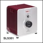 安定化タングステンハロゲン光源、360~3800 nm