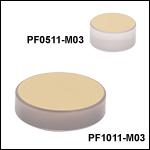 保護膜無しZerodur金ミラー(800 nm~20 µm)