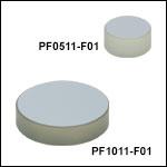 UV域強化Zerodurアルミミラー(250 nm~450 nm)