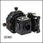 2台カメラ接続用顕微鏡マウント