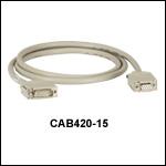 温度コントローラ用ケーブルCAB420-15