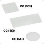 精密カバーガラス、厚さ#1.5H (170 µm)