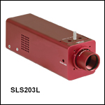 安定化グローバ光源、500~9000 nm