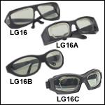 レーザ保護眼鏡、可視光透過率41%