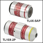 Thorlabs社製スーパーアポクロマート対物レンズ