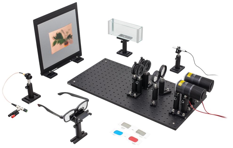 Polarization and 3D Cinema Technology Kit