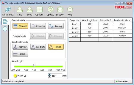 Kurios Control Software