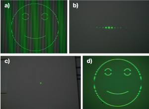Fourier Filtering of a Smiley Face